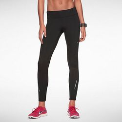 """""""I like the Nike thermal women's running tights as they're warm yet still lightweight and moisture-wicking.""""<em>—Marnie Kunz</em> (<a href=""""http://store.nike.com/us/en_us/pd/thermal-running-tights/pid-776612/pgid-10272132"""">$75</a> at Nike stores)"""
