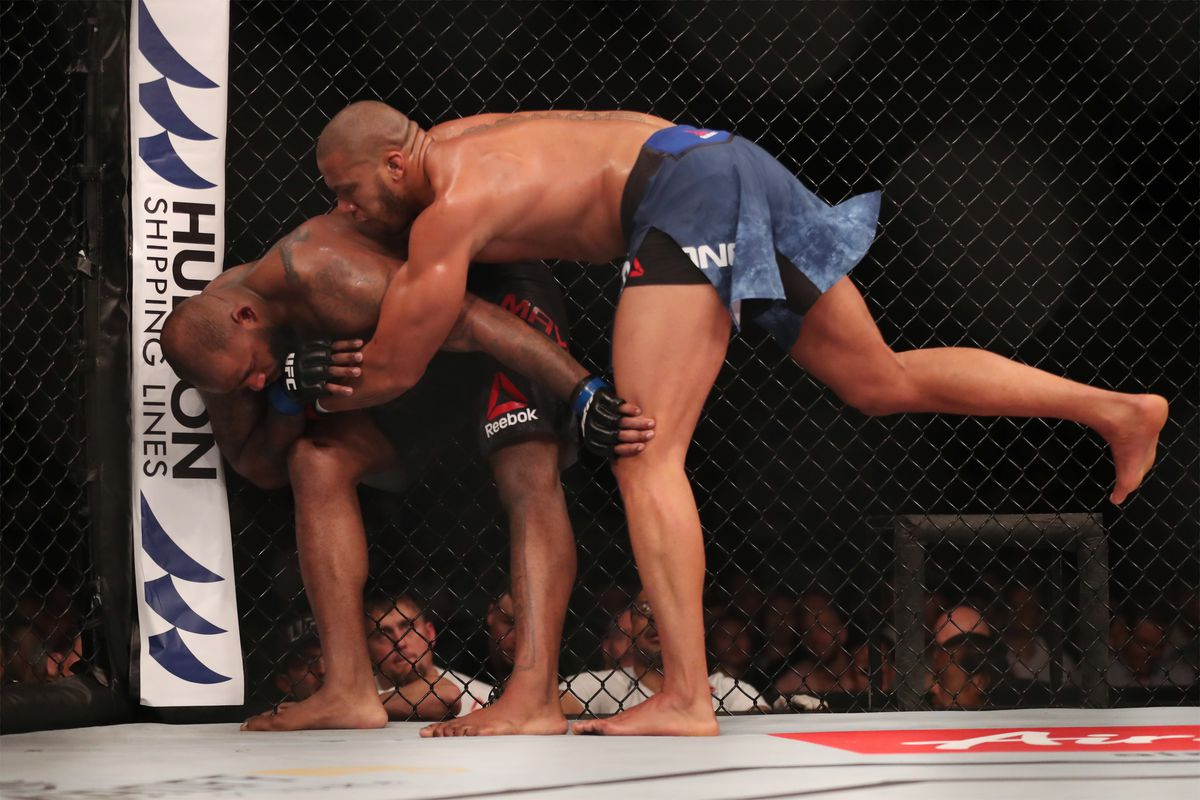 MMA: UFC Fight Night-Singapore- Gane vs Mayes