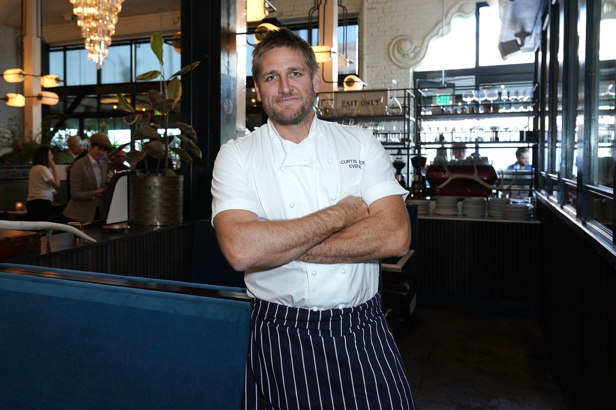 The Hollywood Chamber Of Commerce And Award-Winning Chef Curtis Stone Host Ribbon-Cutting For His New Restaurant Gwen
