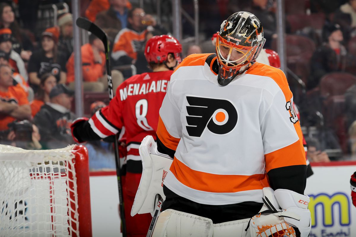 7a852899780 2018-19 Player Review: Oh yeah, Michal Neuvirth actually played hockey this  year
