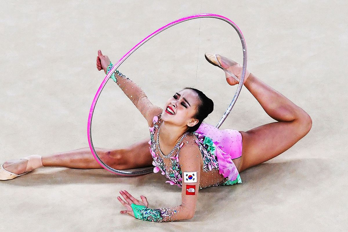 shut up and just watch rhythmic gymnastics the ringer