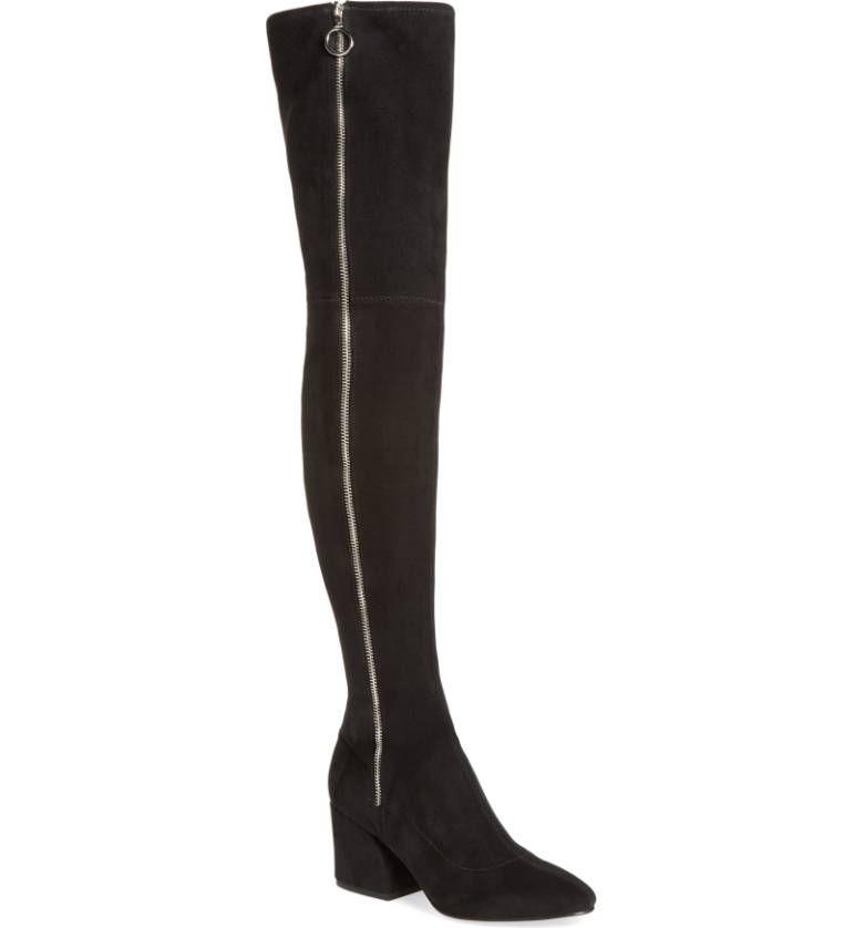 Dolce Vita black Thigh High Boots
