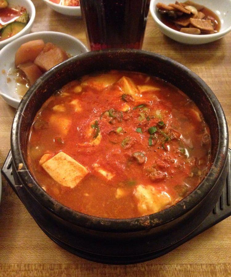 Korea House's tofu soup