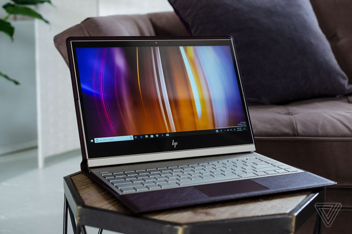 72e915ef2d66 HP's new leather Spectre Folio laptop tries to reinvent the PC - The ...