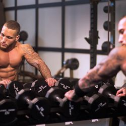Raul Hernandez, David Barton Gym //
