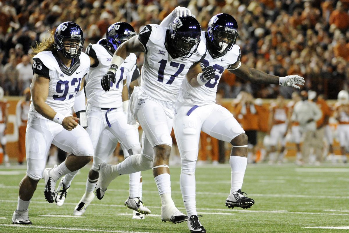 The only thing standing in TCU's way is a team that lost to North Dakota State...by 20.