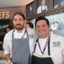 BNCs Andy Ticer & Michael Hudman of Andrew Michael Italian Kitchen in Memphis. [Photo: Paula Forbes]