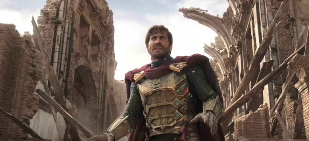 Jake Gyllenhaal as Mysterio in 'Spider-Man: Far From Home'