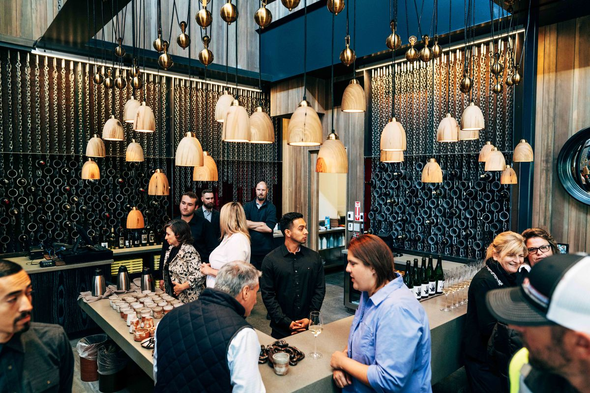 Napa S Edgiest Tasting Room Now Open In St Helena From The