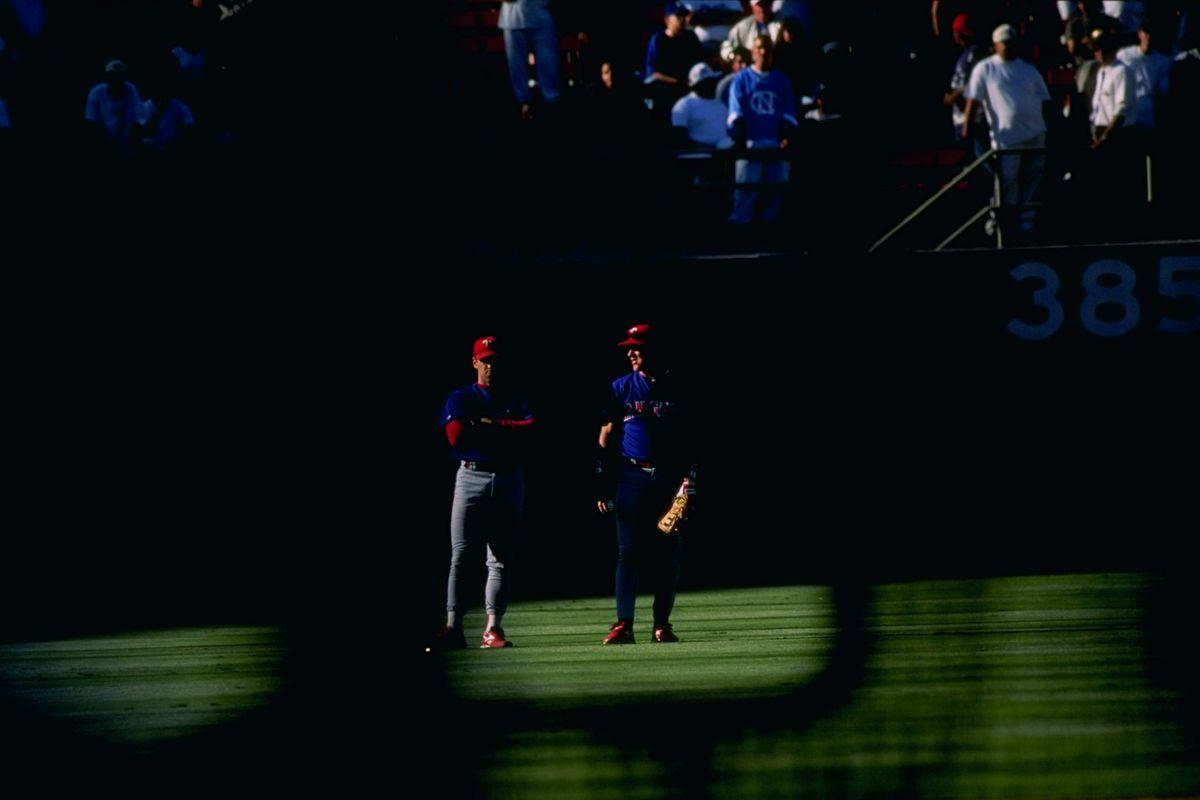 Rangers v Dodgers