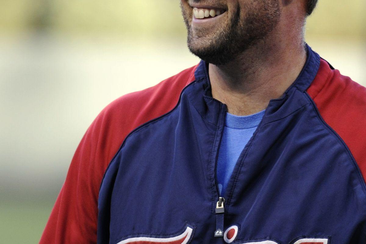 """""""Now batting for the Twins, the right fielder, number 5, Michaaaaaaaaaaaaaaaaaeeeee--"""""""