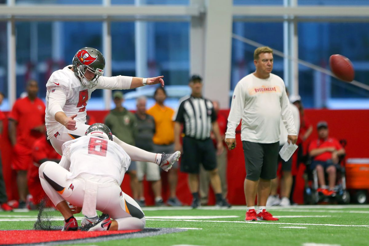 e8499a73 Tampa Bay Buccaneers settling in for long kicking battle - Bucs Nation