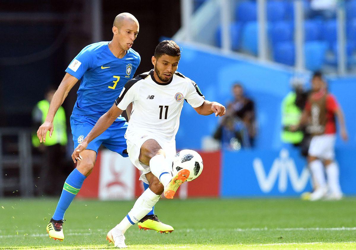 Soccer: World Cup-Brazil vs Costa Rica