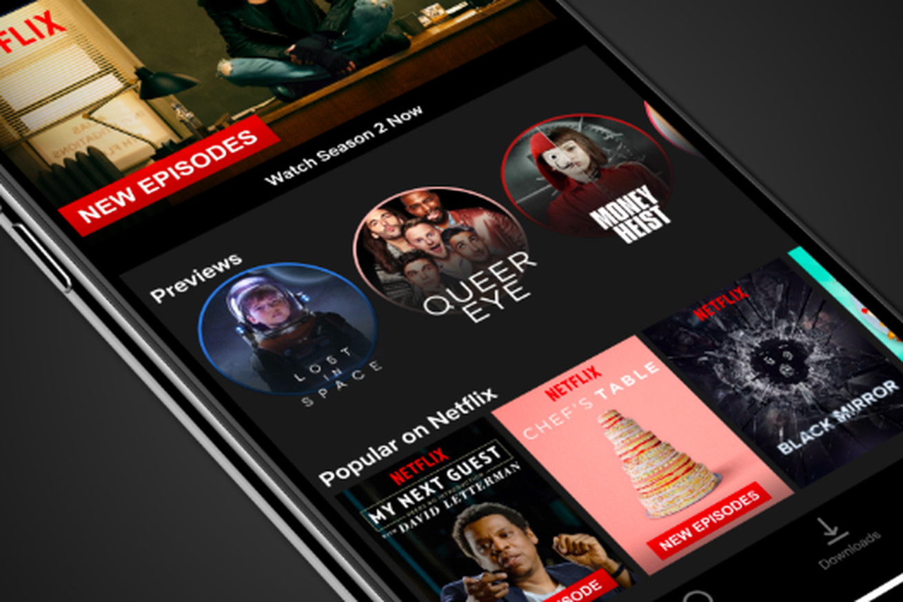 netflix stories are here with 30 second video previews in mobile apps