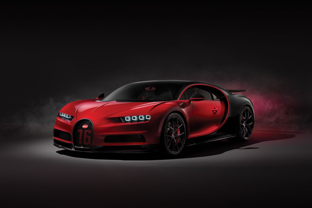 The Bugatti Chiron Sport is a more precise version of an
