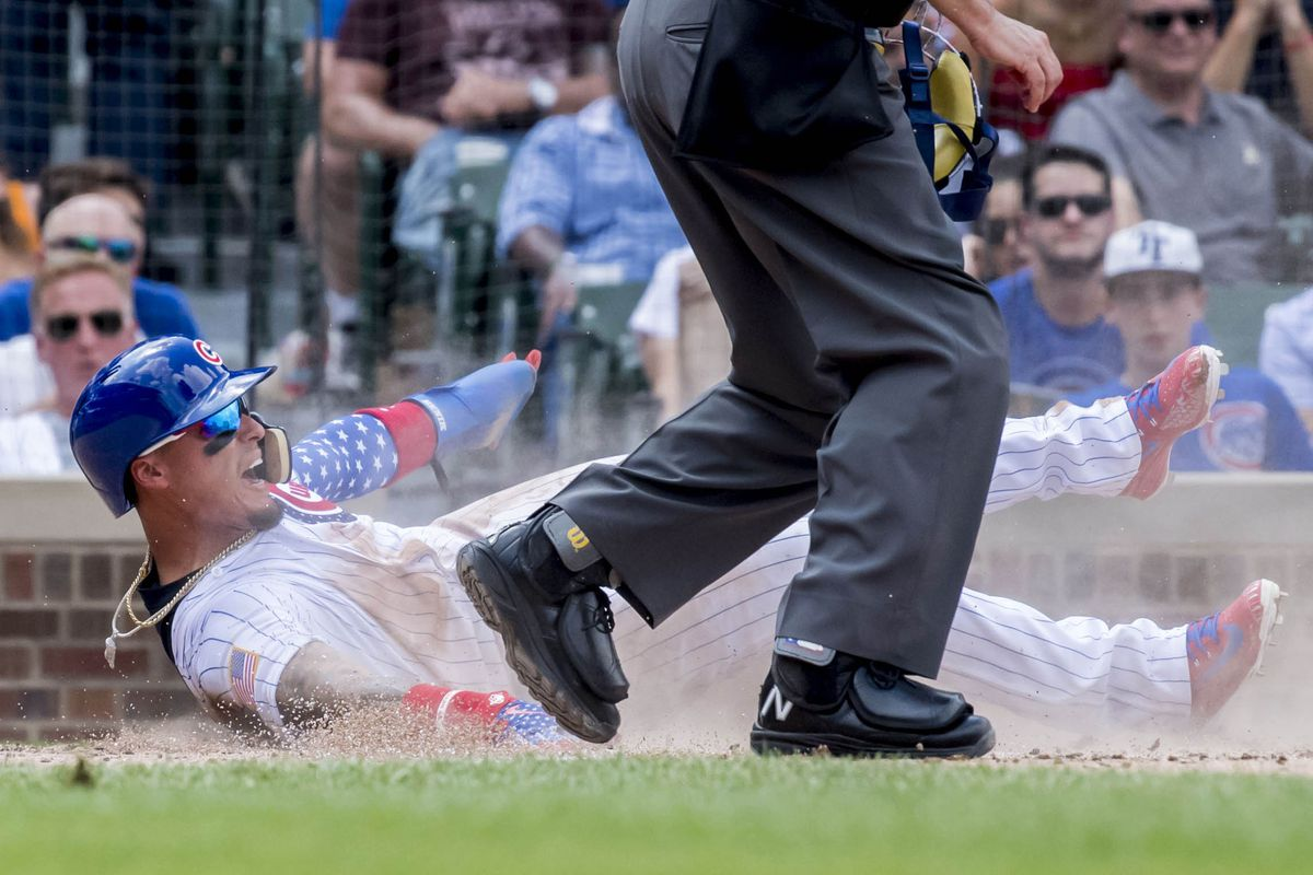 MLB: Detroit Tigers at Chicago Cubs