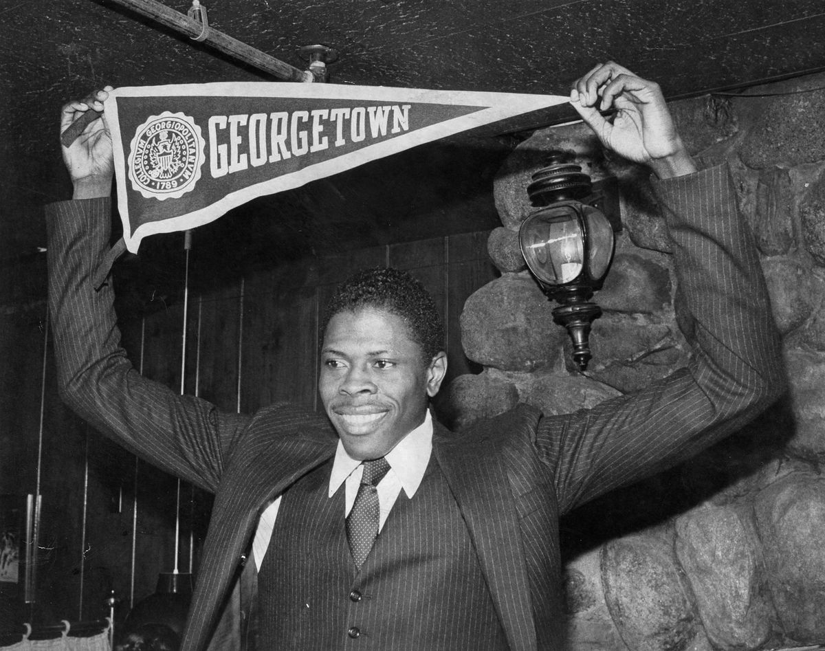 Patrick Ewing Announces Decision To Attend Georgetown