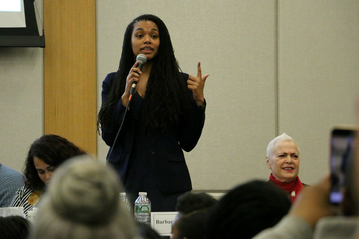 Asia Norton, a charter-school teacher, was elected to fill one of three open seats on the school board.