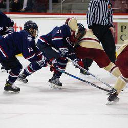 UConn Men's Hockey vs Boston College