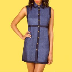 """<b>Opening Ceremony</b> Tiled A-Line Dress, <a href=""""http://www.openingceremony.us/products.asp?menuid=2&designerid=6&productid=58412&sproductid=58413"""">$150</a> (was $500)"""