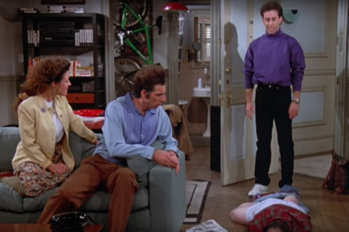 The Moment In Seinfeld When Georges Scam Falls Apart Screengrab From YouTube TBS