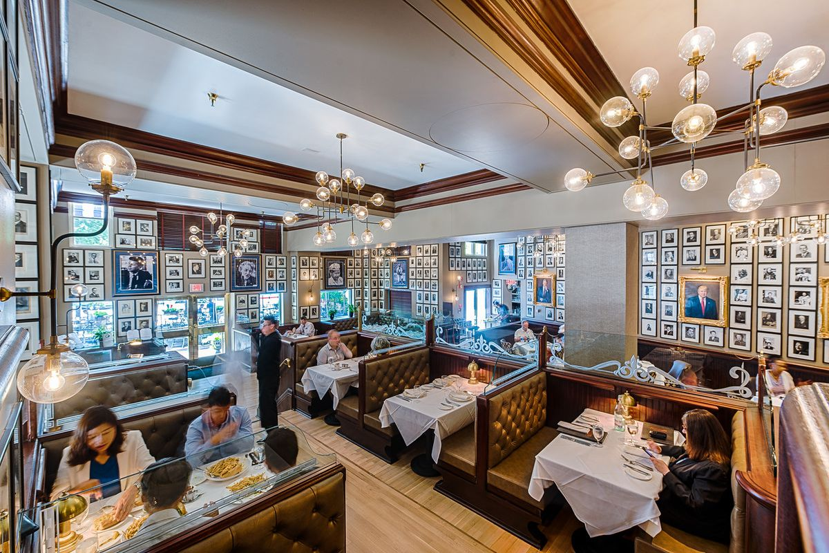 Historic occidental grill unveils its swanky new lounge
