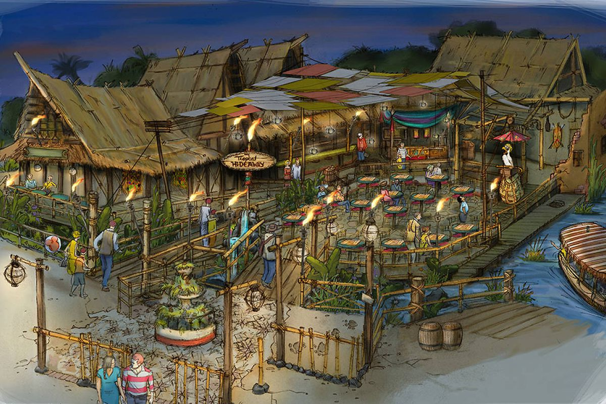 Disneyland Adds New Open Air Market Overlooking The Jungle Cruise Eater La