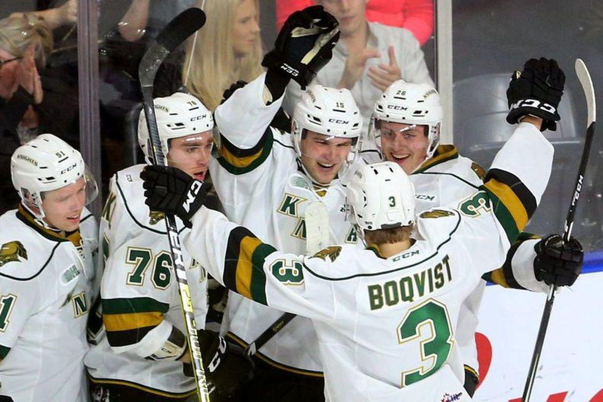 Blackhawks Prospect Boqvist Scores 6 Goals In 2 Games For Knights