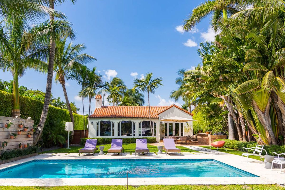 A Miami Beach home at 445 East Dilido Drive that recently sold for $3.9M