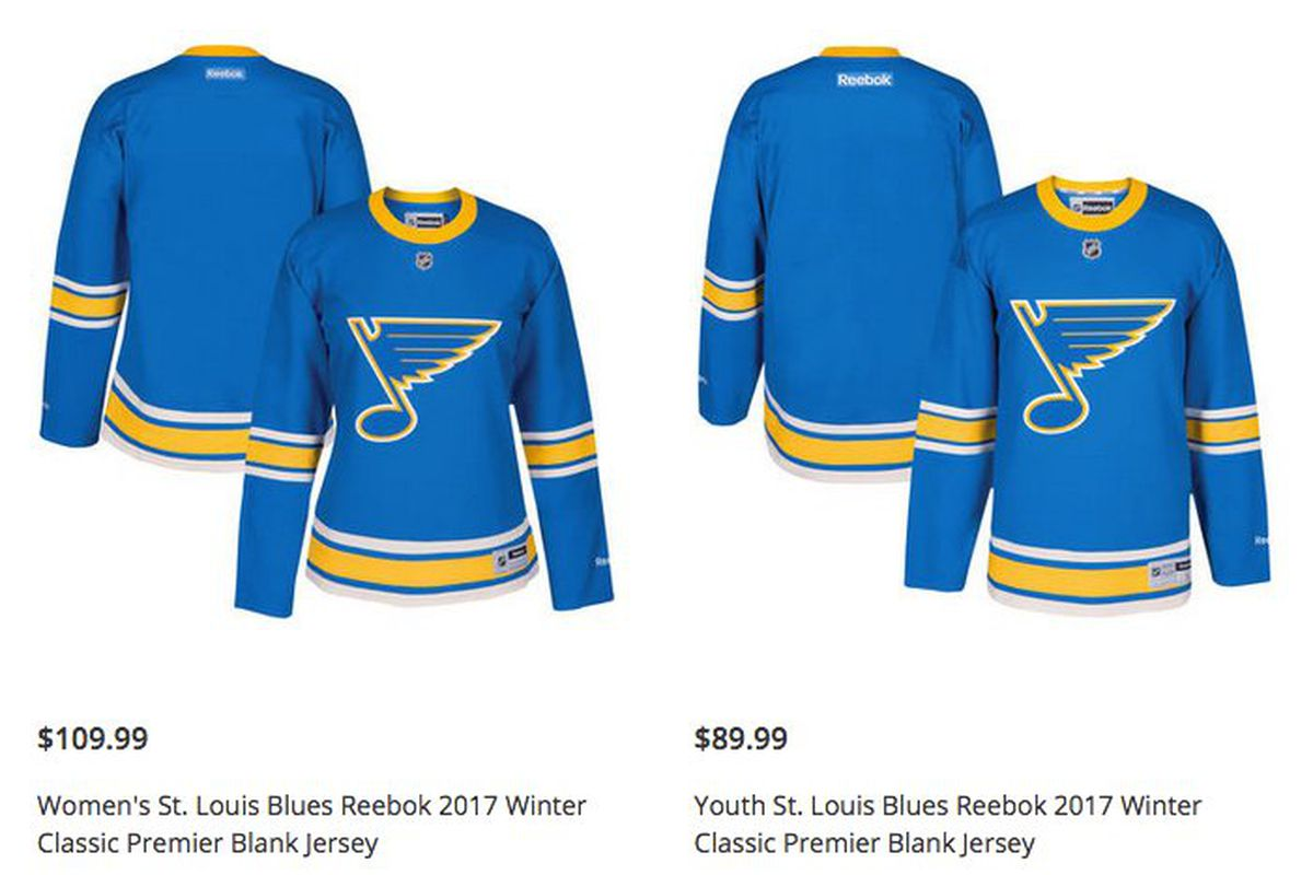 cheap for discount 6c470 64ece Blues 2017 Winter Classic Jerseys Leak - St. Louis Game Time