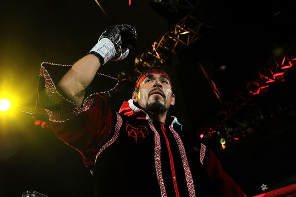 Antonio Margarito could have another lucrative rematch in his future if he beats Miguel Cotto again on December 3. (Photo by Nick Laham/Getty Images)