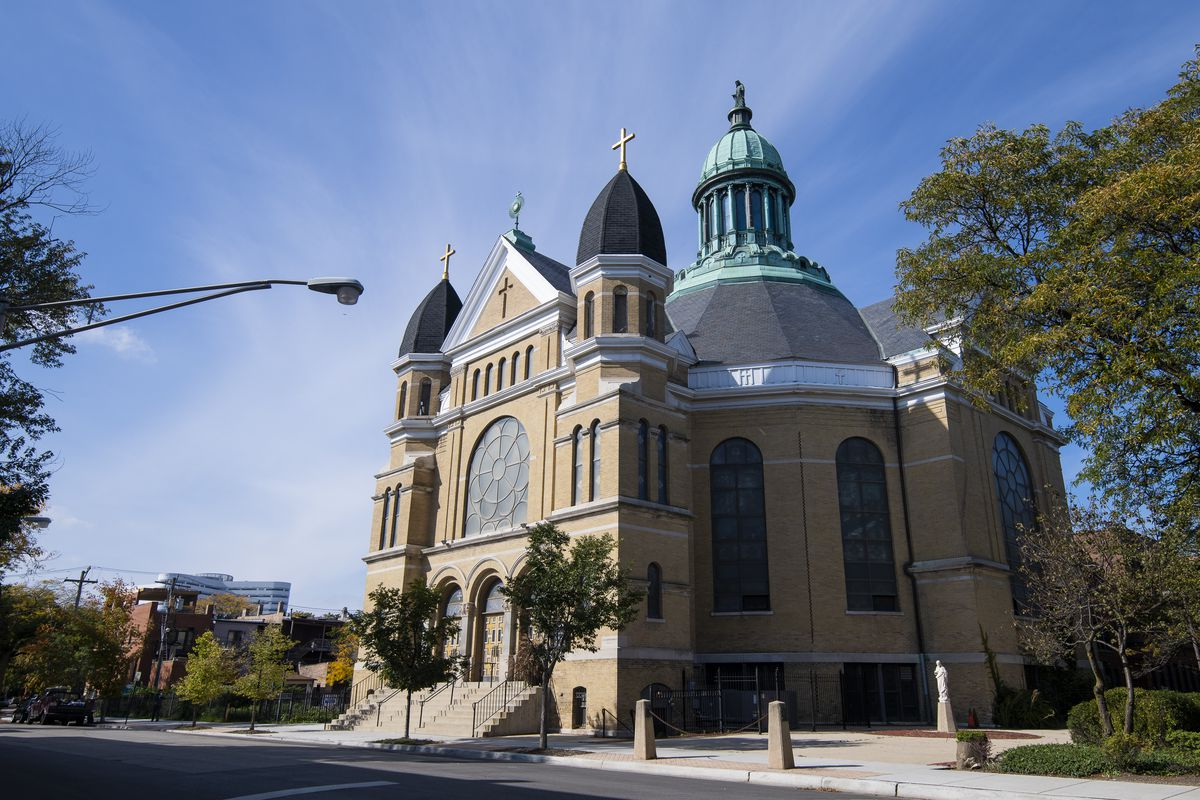 Notre Dame de Chicago in Little Italy. | Tyler LaRiviere/Sun-Times