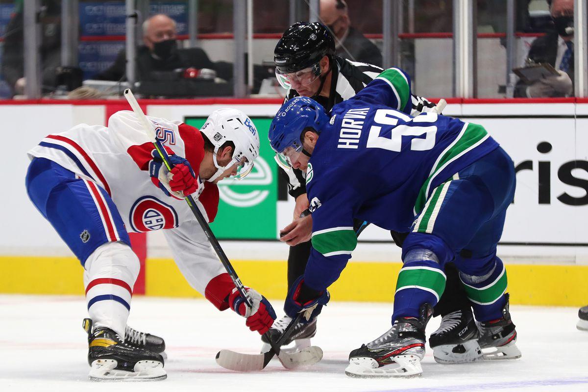 NHL: JAN 21 Canadiens at Canucks