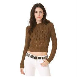 "<a href=""http://www.shopbop.com/kya-crew-neck-sweater-theyskens/vp/v=1/1538641081.htm?folderID=2534374302207491&fm=other-shopbysize-viewall&colorId=11565"">Theyskens' Theory Kya Crew Neck Sweater</a>, $118.50 (was $395)"
