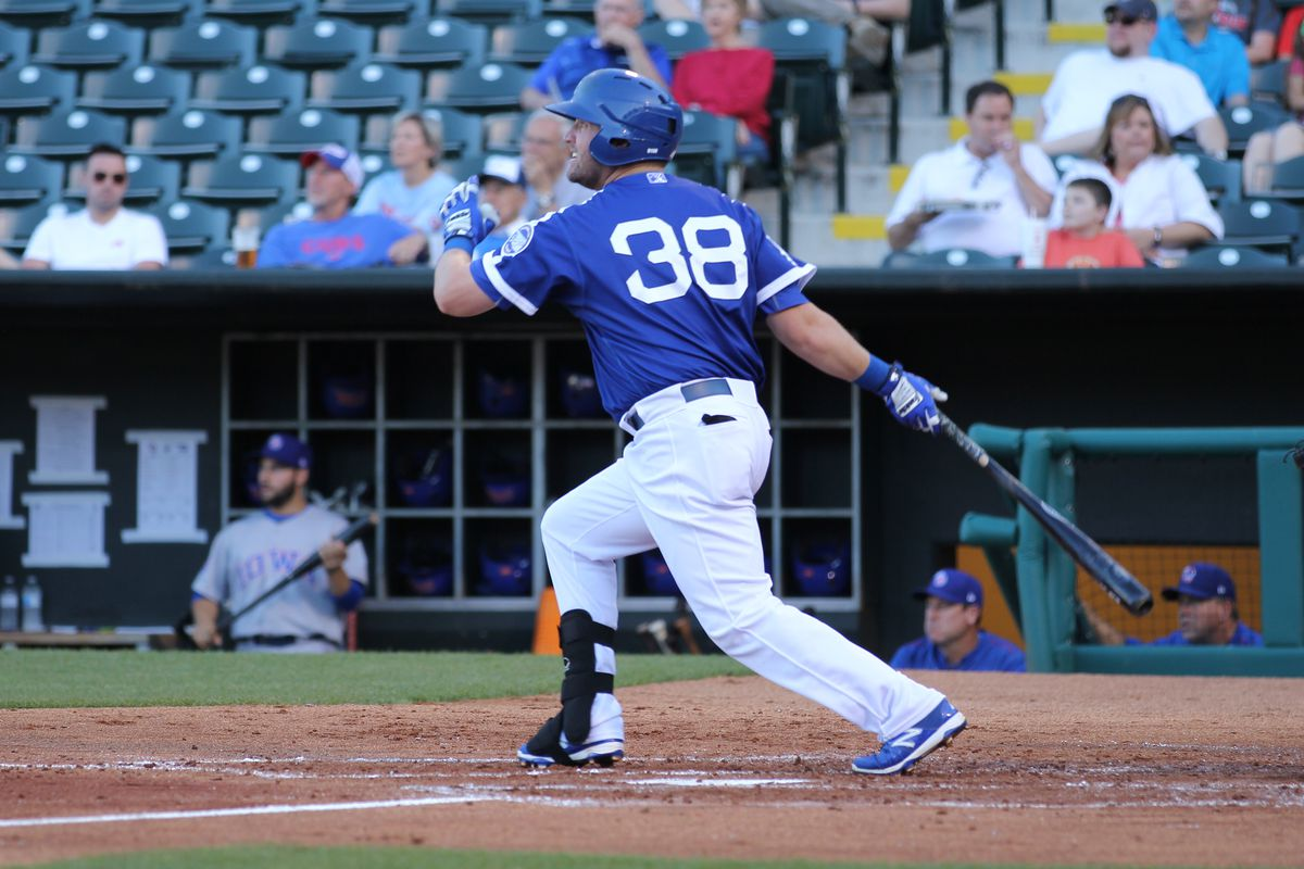 Andy Wilkins hit .249/.307/.472 with 18 home runs and 25 doubles in 105 games with Triple-A Oklahoma City in 2015.