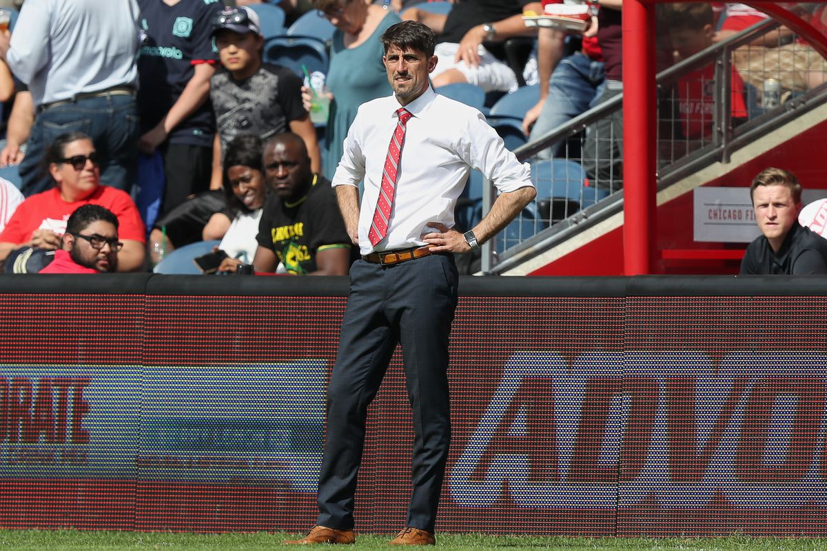 SOCCER: MAY 25 MLS - New York City FC at Chicago Fire