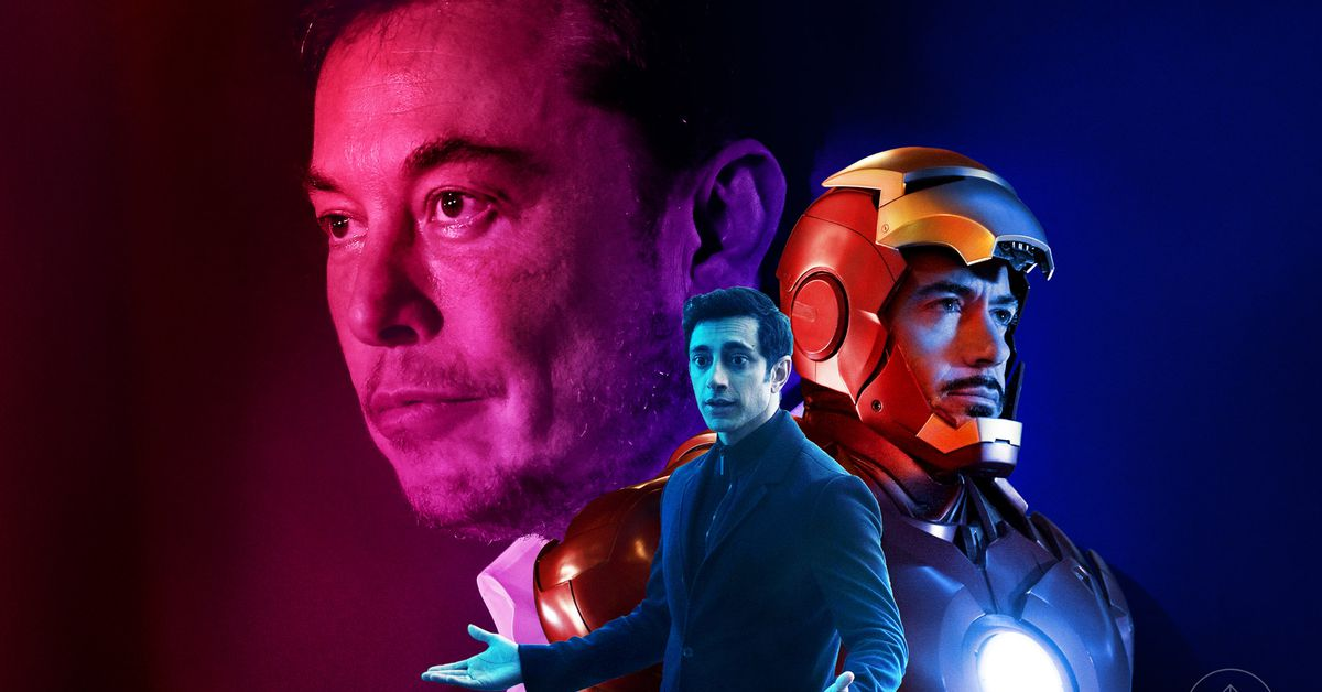Elon Musk's superhero influence chronicled his journey from a hero to villain