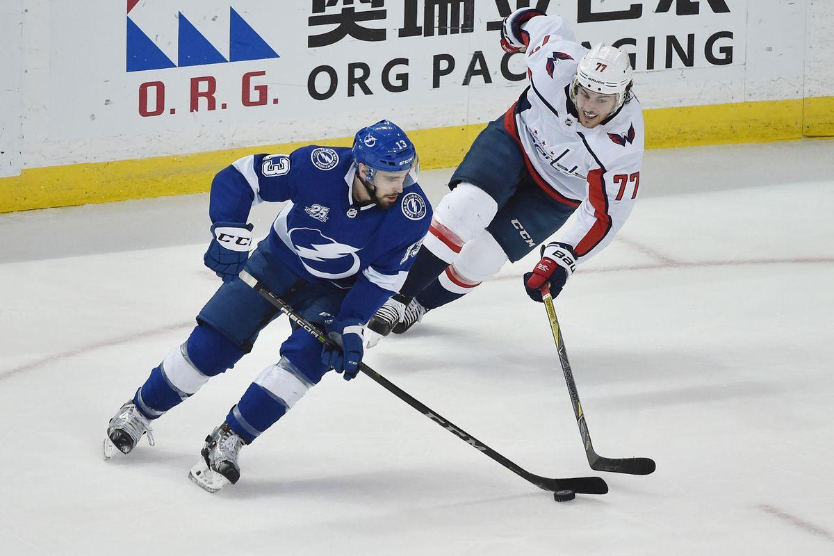NHL: Stanley Cup Playoffs-Washington Capitals at Tampa Bay Lightning