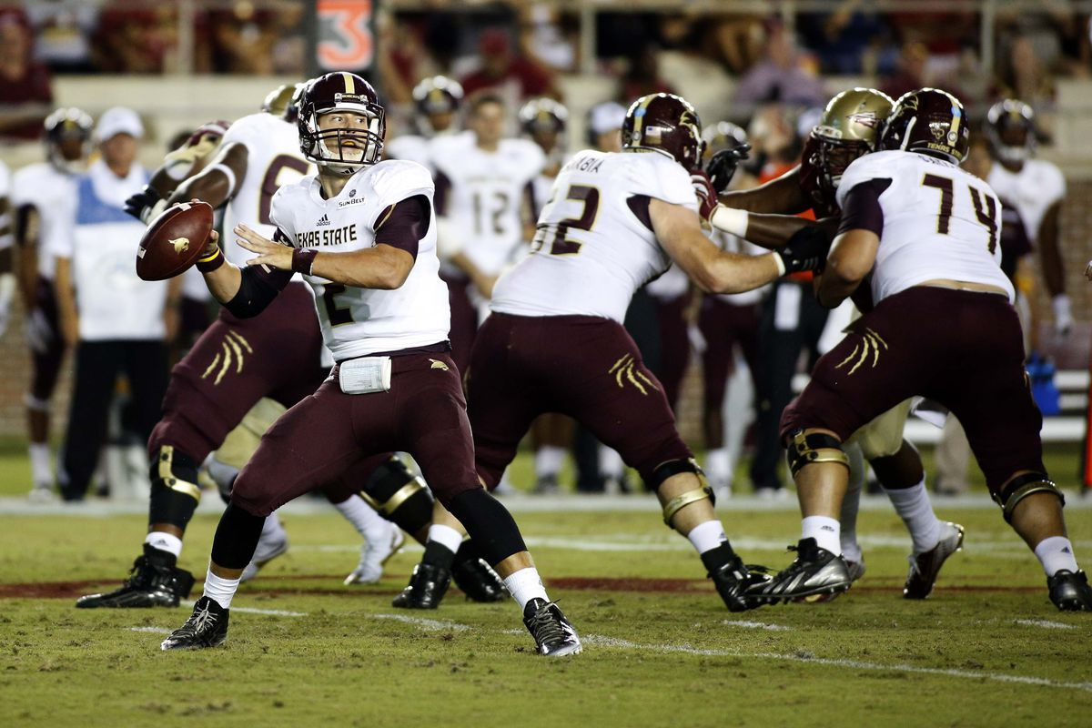 Will Tyler Jones get the chance to air it out in Texas State's home opener?