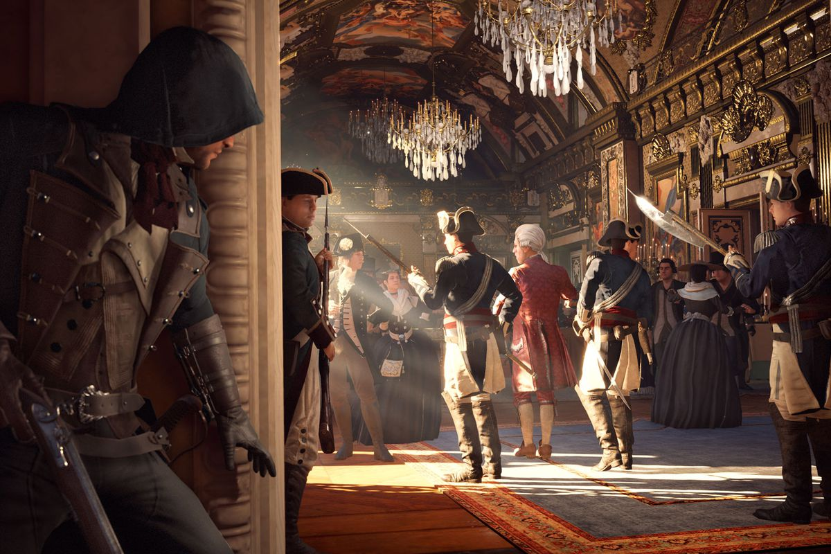 Assassin S Creed Unity Was The Game Of 2014 Not For The Right