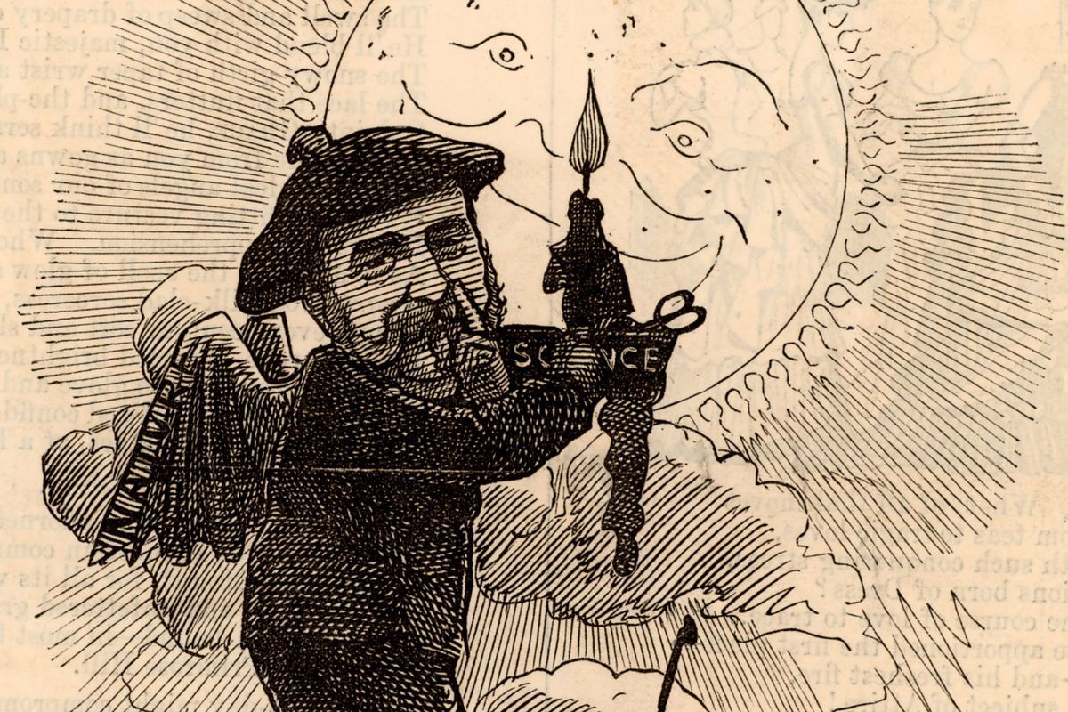 Joseph Norman Lockyer (1836-1920) English astronomer and spectroscopist born at Rugby, Warwickshire. In 1868 he detected and named the gaseous element Helium in the Sun's chromosphere. In 1869 he established the science journal Nature which he edited un..