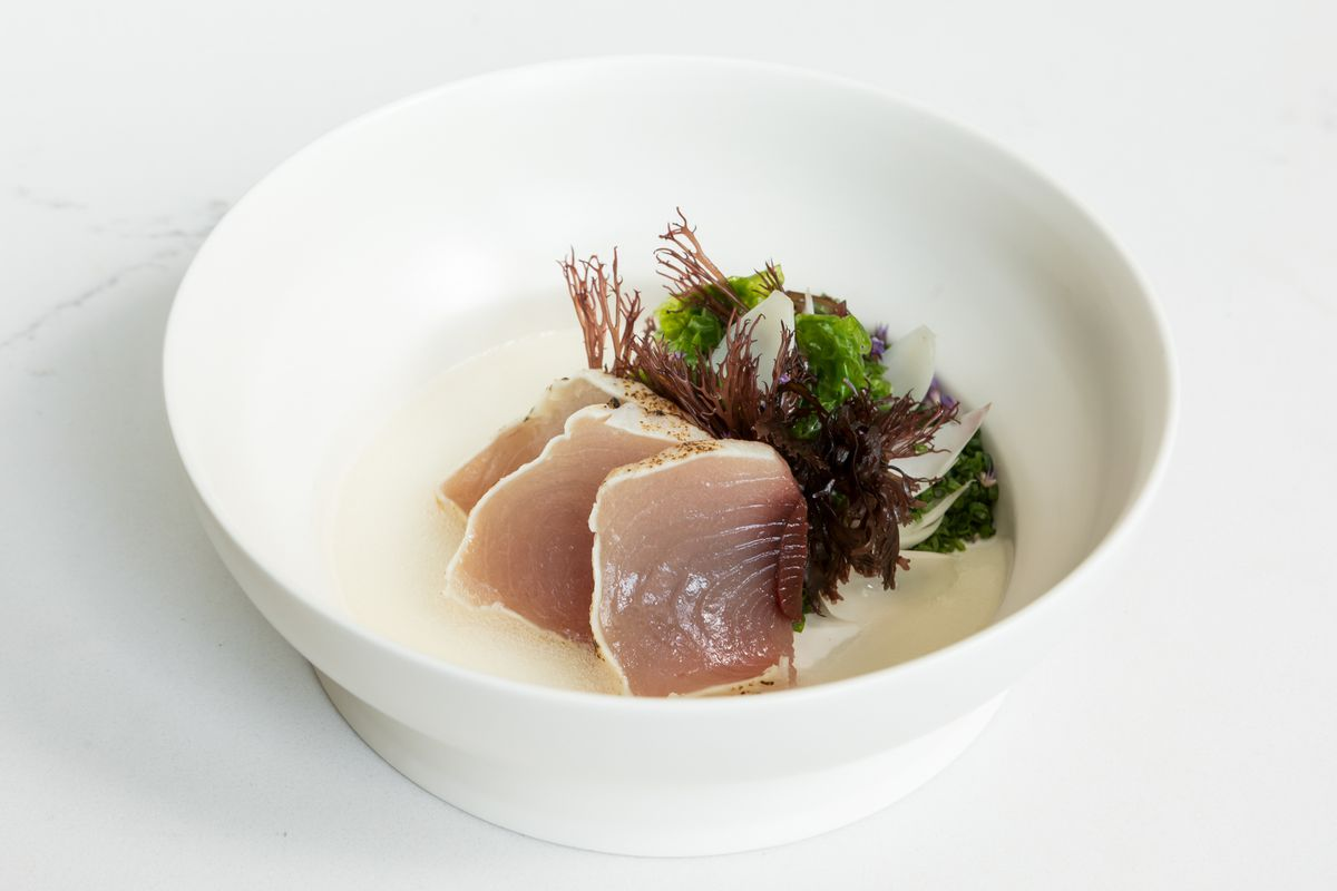 Raw fish from Le Fantastique