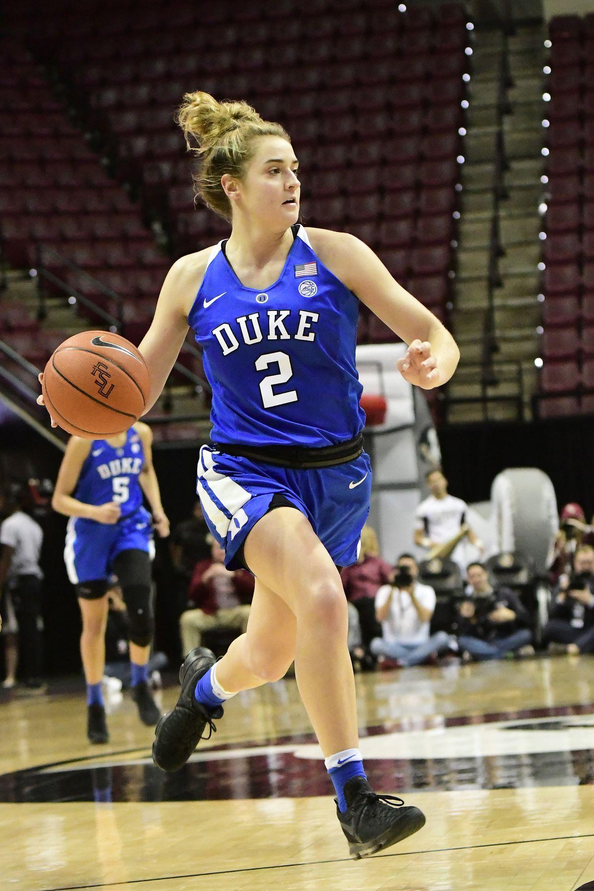 COLLEGE BASKETBALL: JAN 20 Women's Duke at Florida State