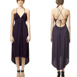 "<b>Rebecca Taylor</b> Bare Back dress, <a href=""http://www.rebeccataylor.com/dresses/bare-back-dress-/invt/rt312607d492/&bklist=icat,4,shop,rtshop,rtdresses"">$295</a>"