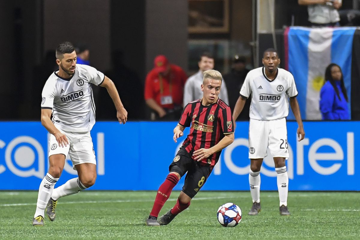 buy popular 6f396 0d079 Atlanta United draws with Philadelphia Union, 1-1 - Dirty ...