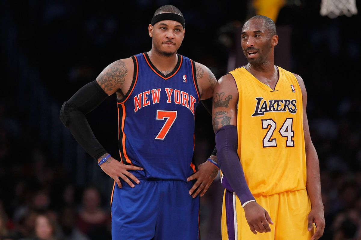a79699e4c The funniest part of Carmelo Anthony to the Lakers rumors - SBNation.com