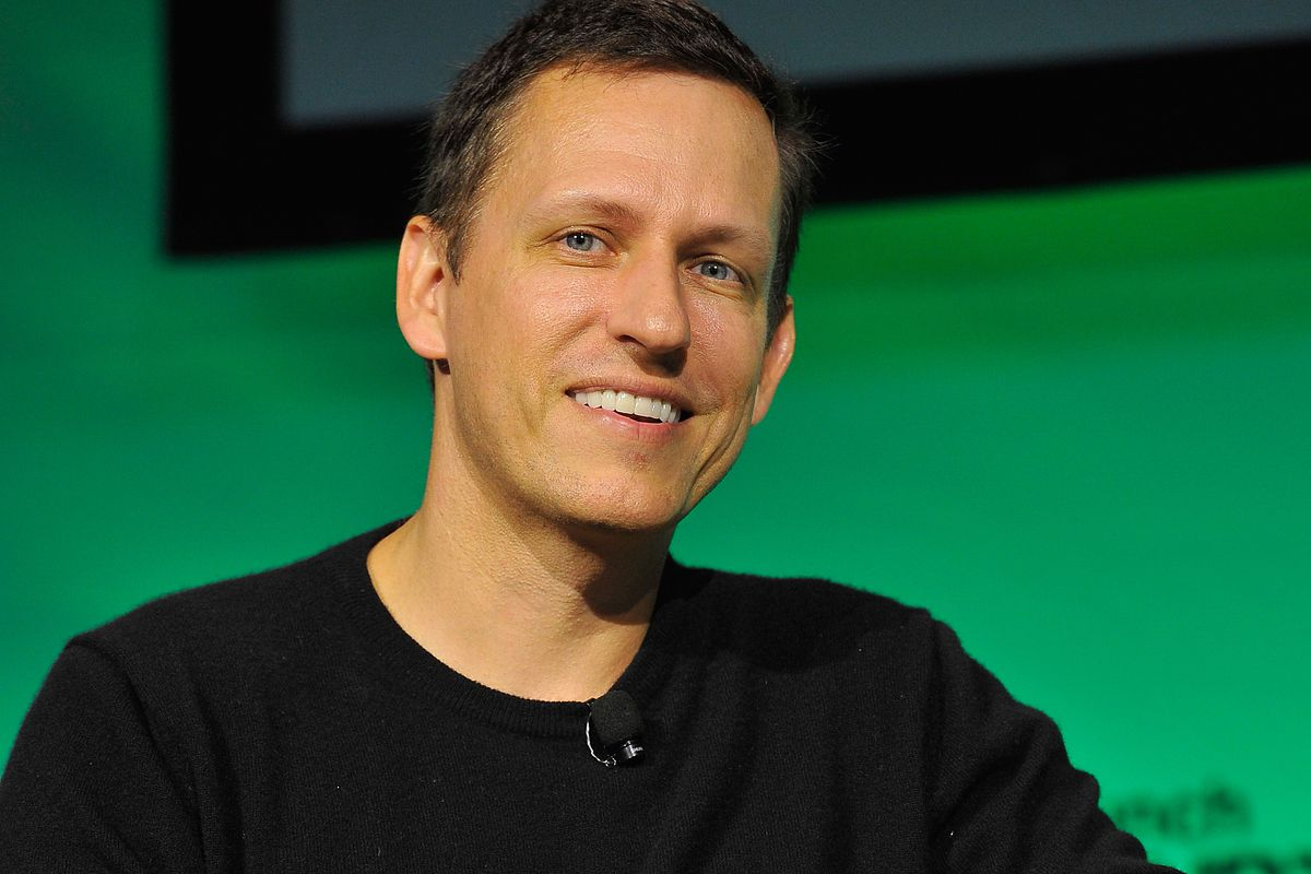 PayPal cofounder and Facebook investor Peter Thiel is an investor in 21 Inc.