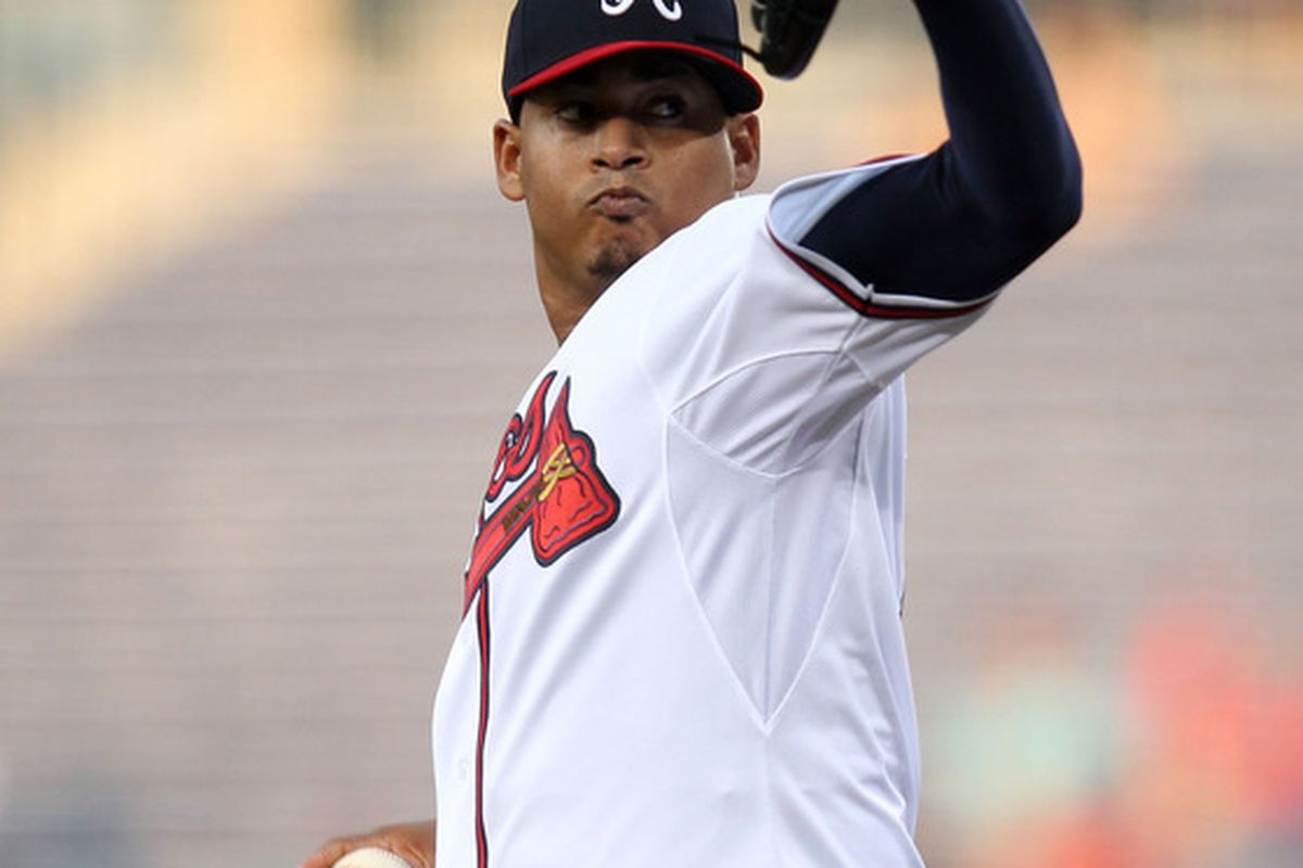 Braves starting pitcher Jair Jurrjens could be the most attractive trade target this winter.