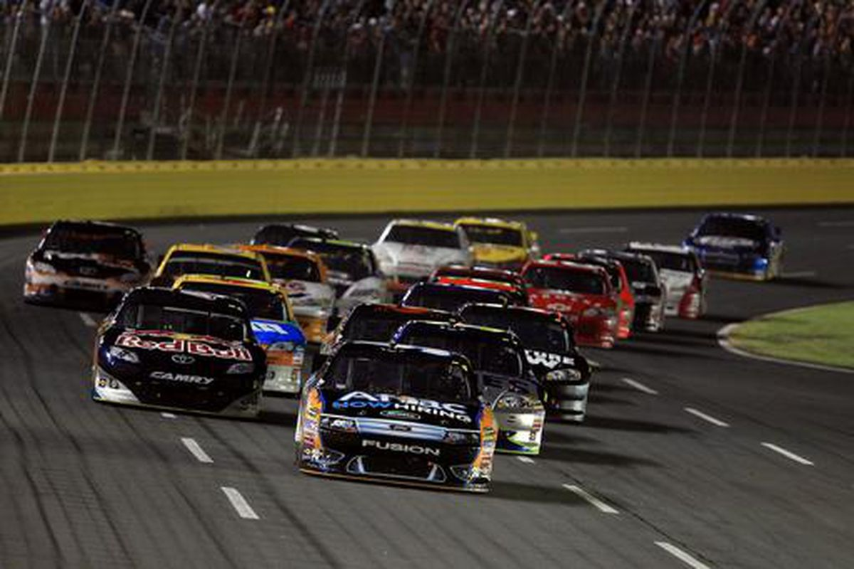 Carl Edwards leads the Sprint Cup All-Star race field