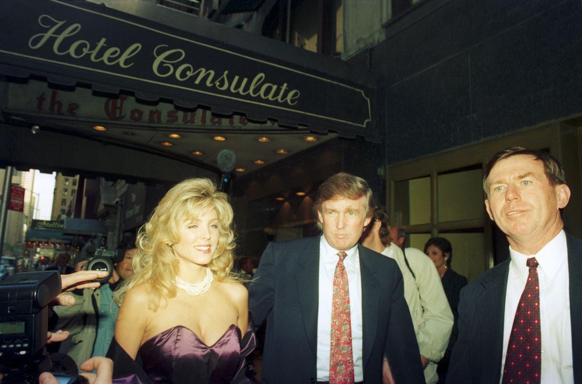 Donald Trump around 1980.
